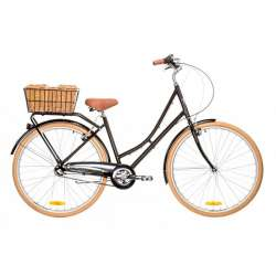 LADIES DELUXE 3 SPEED BLACK 46