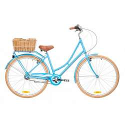 LADIES DELUX 3 SPEED BABY BLUE 46