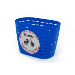 FirstBIKE basket BLUE, incl. strap&sticker
