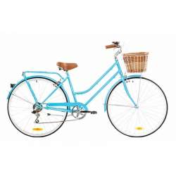 LADIES CLASSIC 7 SPEED BABY BLUE 46