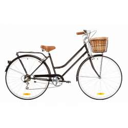 LADIES CLASSIC 7 SPEED BLACK 46