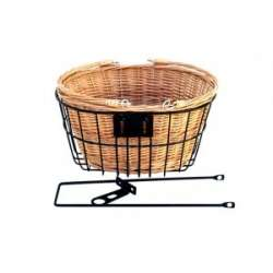 Front Basket Black