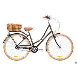LADIES DELUXE 3 SPEED BLACK 52