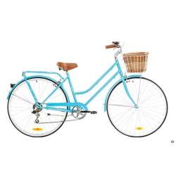 LADIES CLASSIC 7 SPEED BABY BLUE 52