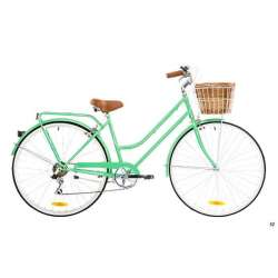 LADIES CLASSIC 7 SPEED MINT GREEN 52