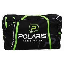 CARGO BAG, Black/Green, One Size