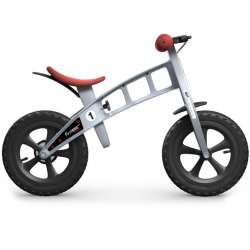 """FirstBIKE """"Cross"""" Silver with brake"""