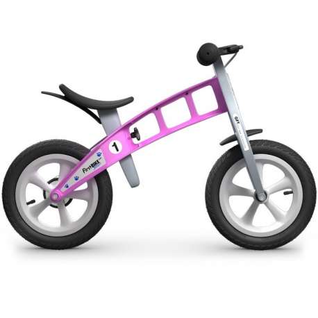 """FirstBIKE """"Street"""" Pink with brake"""